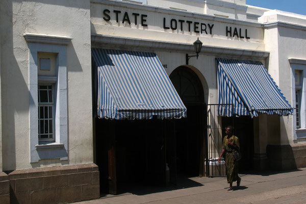State Lottery Hall - Harare