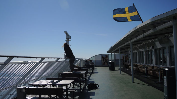 Ferry to Aaland - Baltic Sea
