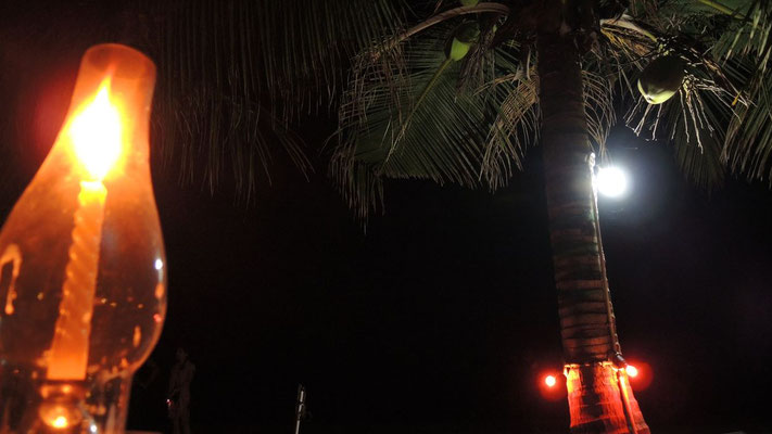 Dinner at the beach - Arugam Bay