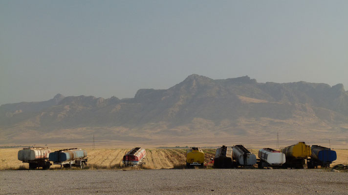 Close to the border to Iraq - Turkey