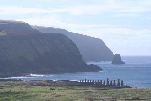 Ahu Tongariki - Rapa Nui East Coast