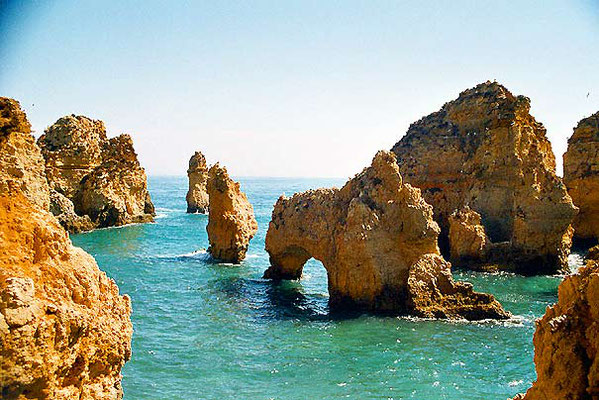 Cabo Ponte da Peidade - South of Lagos - Algarve
