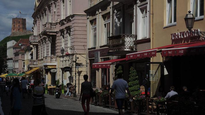 Pilies gatve - Vilnius Old Town - Lithuania
