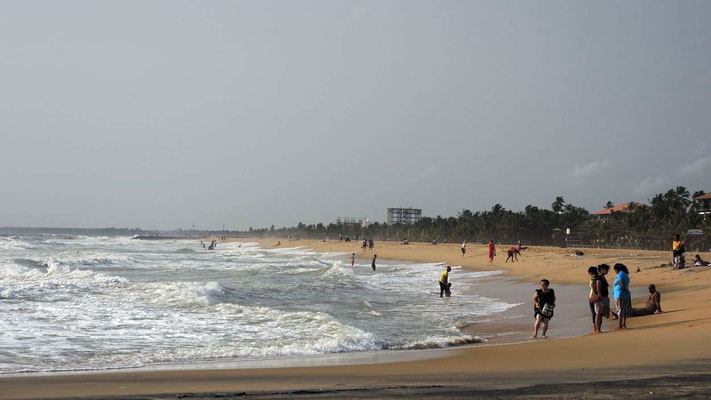 Arrival in Negombo - near Colombo