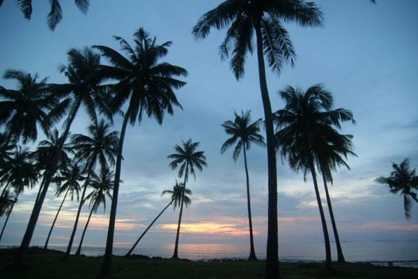 Sunset at Ko Lanta Island - Southwestern Thailand