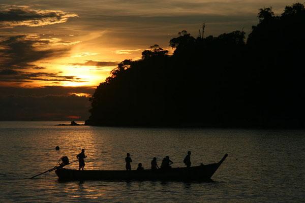 Sunset at Ko Adang - Ko Tarutao National Park