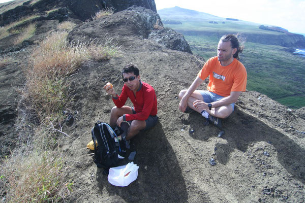 Ivan and Pedro - Rano Raraku