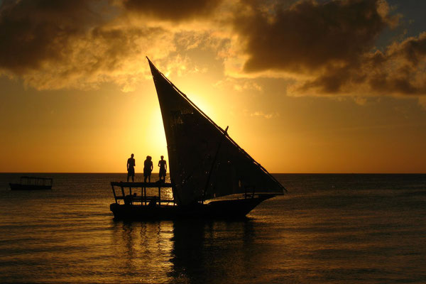 Dhow trip for sunset - Kendwa Beach - Zanzibar