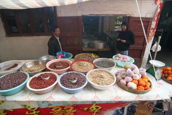 Food stall - Western Yunnan Province