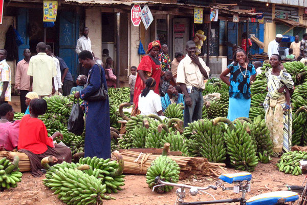 Local market - Iganga