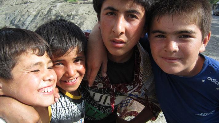 Kids in Aini - Western Tajikistan