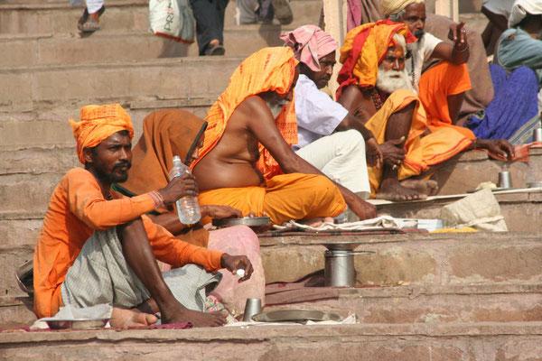 Sadhus - Varanasi - Uttar Pradesh