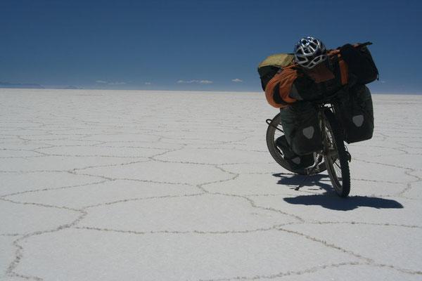 Salar de Uyuni at 3,650 m