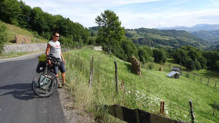 Cycling the northeastern Carpathian Mountains - Romania