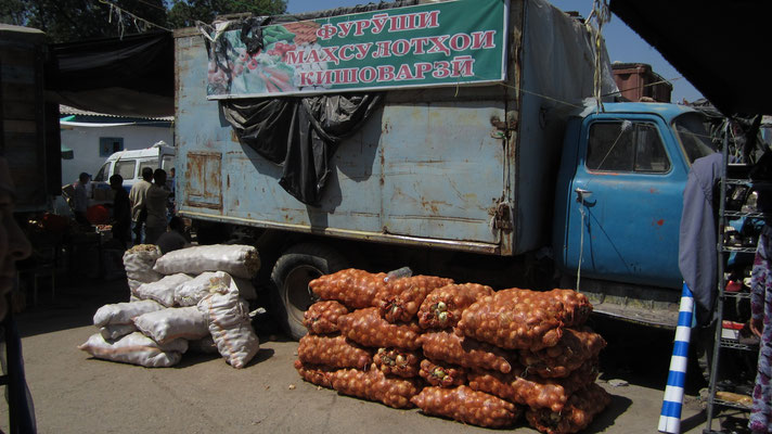Shah Mansur Bazaar - Dushanbe - Tajikistan