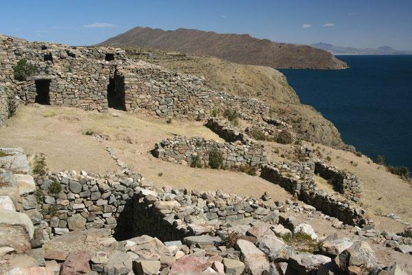 Chincana Ruins - Isla del Sol - Lago Titicaca