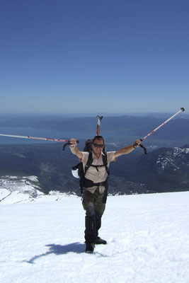 Climbing Volcano Villarica - Pucon
