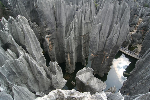 Shilin Stone Forest - Eastern Yunnan Province