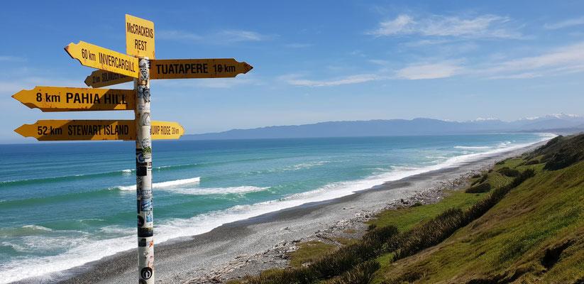 Te Waewae Bay - South Island