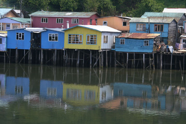Palafitos - Stilt houses in Castro - Chiloé Island