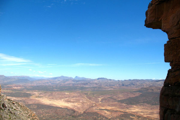 Cederberg Wilderness Area - View from Wolfberg Cracks