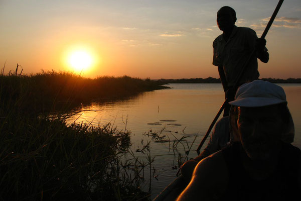 Sunset at Shire River - Liwonde National Park