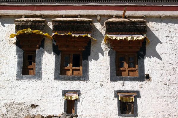 Tibetan housefront - Leh - Ladakh