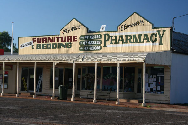 Outback buildings - Cloncurry - Queensland