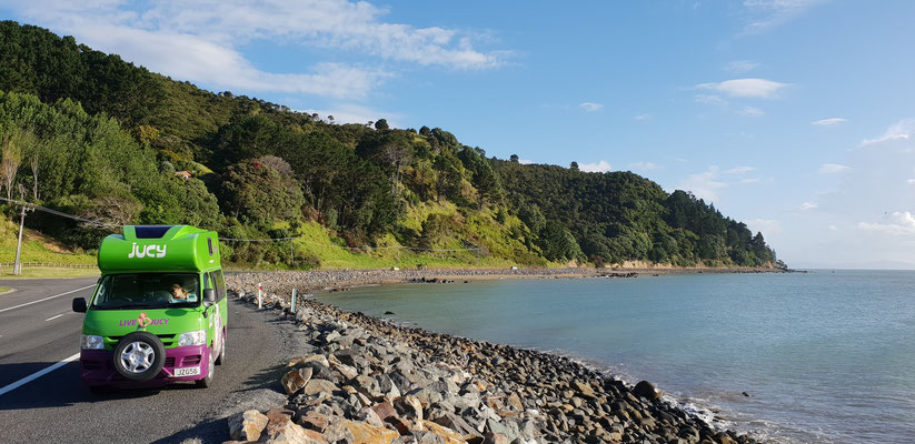 Firth of Thames - Coromandel Peninsula - North Island