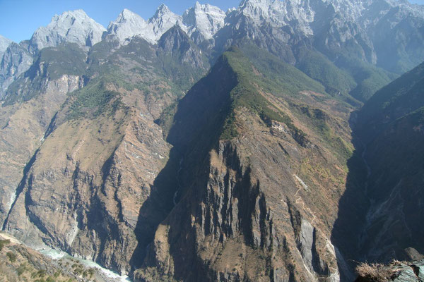 The world´s deepest gorge - Tiger Leaping Gorge