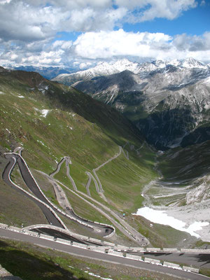 Stilfserjoch (Passo dello Stelvio) 2,758 m - South Tyrol - Italy