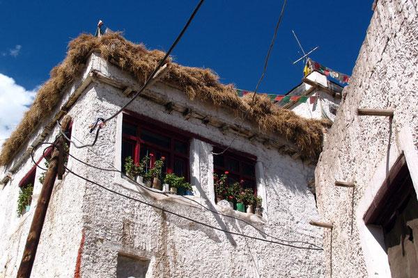 Tibetan house - Leh - Ladakh