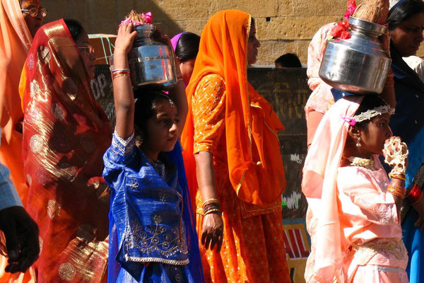 Monkey God´s birthday parade - Jaisalmer - Rajasthan
