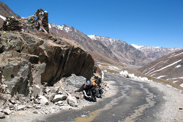 Cycling Lahaul and Spiti Province - Himachal Pradesh