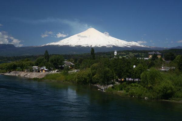 Volcano Villarica - Pucon - Araucania Province