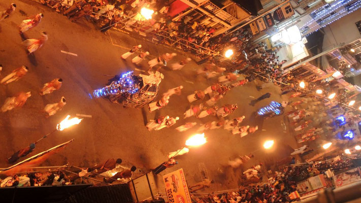 Last night´s procession of Kandy Esala Perahera - Kandy