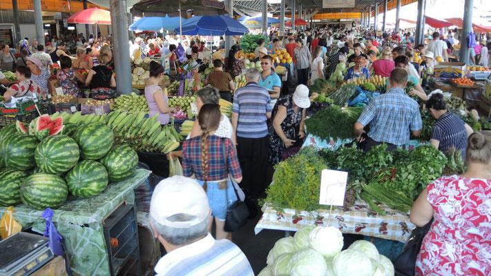 Central Market - Chisinau - Moldova