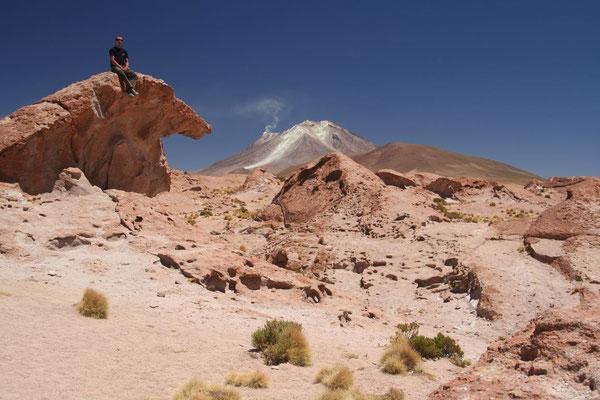 Volcanoe Ollaguee - Valles de Rocas - Southwestern Bolivia