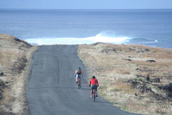 Cycling Rapa Nui East Coast