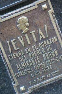 Evita Peron´s grave at Recoleta Cemetery - Buenos Aires