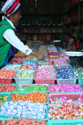 Sweets store - Dali - Northern Yunnan Province