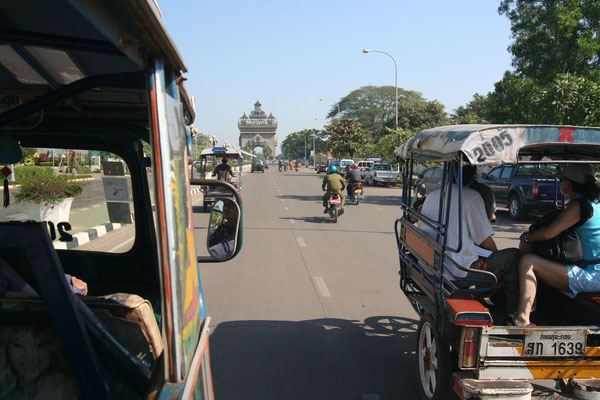 Exploring the capital - Vientiane