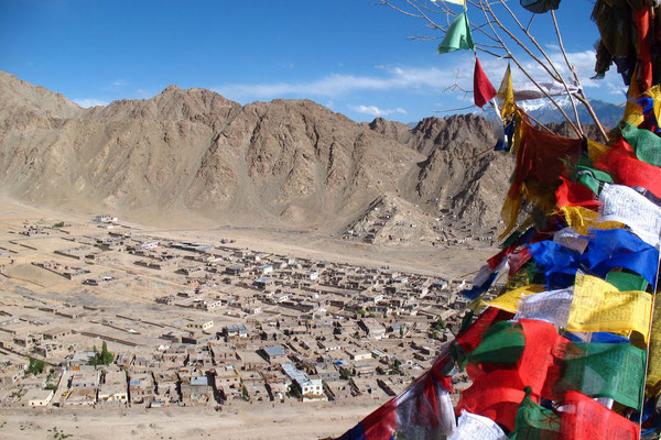Tibetan prayer flags - Leh - Ladakh