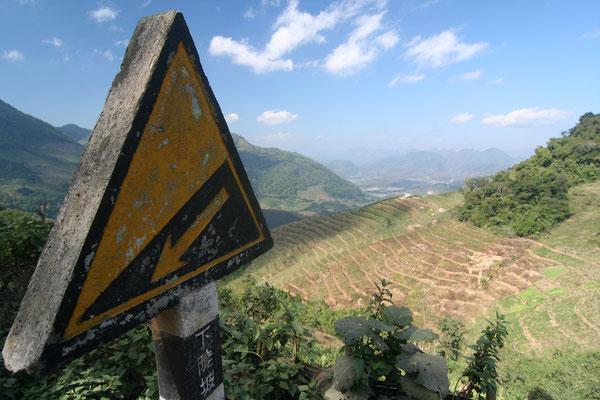 Near Menglun - Southern Yunnan Province