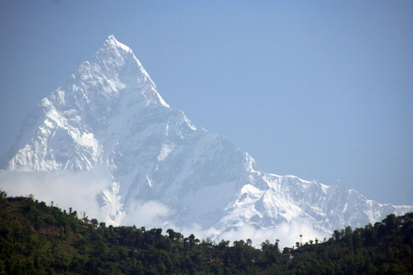 6,997 m Mount Macchapuchare - View from Pokhara