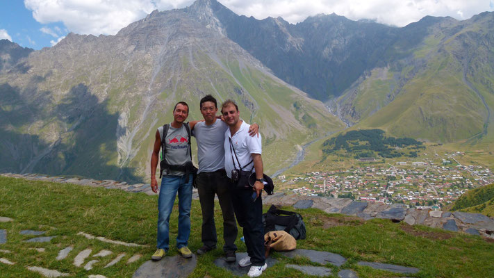 Mountain hike with Hiro and Alex - Kazbegi - Georgia