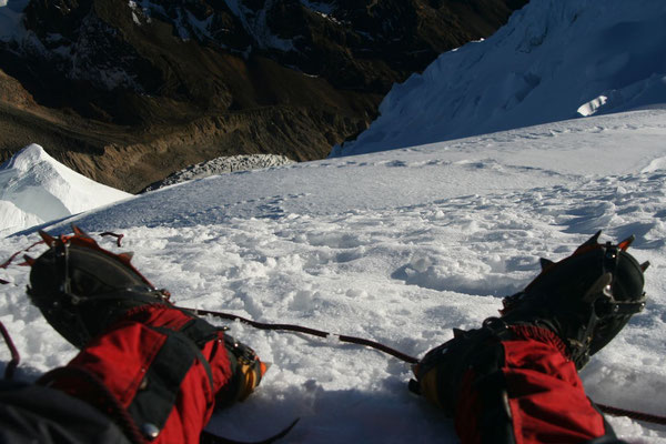Stand - Tocclaraju - Cordillera Blanca