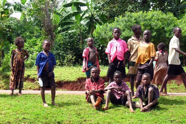Kids at Mount Elgon - Sironko Province