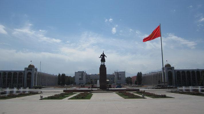Ala-Too Square - Bishkek - Kyrgyzstan