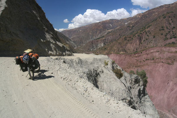 Approaching Ayacucho - Huancavelica Province